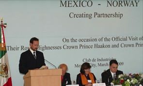 """INTSOK promoting the Norwegian oil and gas industry abroad, arranged the network meeting """"How to do business in Mexico"""" during the Crown Prince and Crown Princess' recent visit to Mexico."""