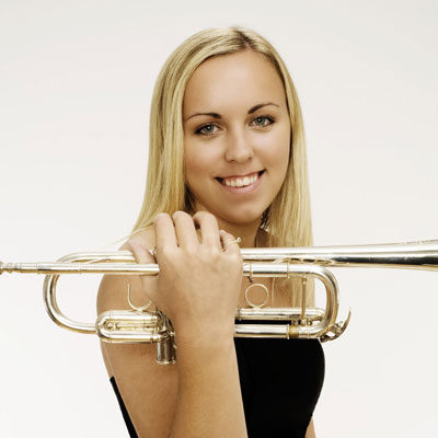Tine Thing Helseth - one with her instrument - The Norwegian American