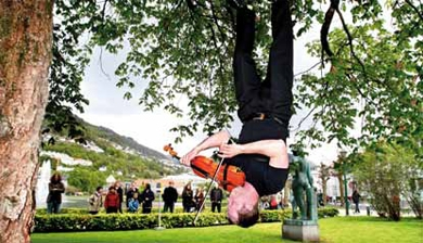 The Bergen International Festival seeks to present art of the highest calibre to the largest possible number of people. Photo: www.fib.no