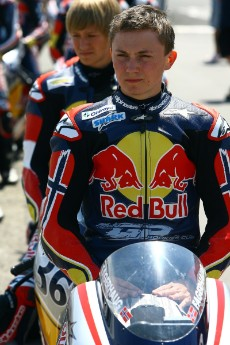 Sturla lives in Heggedal, Norway. He started roadracing when he was 12, and by the age of 14 he was the youngest roadracing Champion ever in Norway, taking the title in the 125 class.