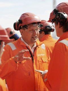 Norway's Energy Minister Terje Riis-Johansen. Photo: Kjetil Alsvik / StatoilHydro