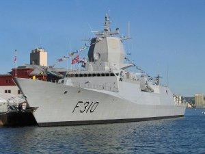 The frigate KNM Fridtjof Nansen at port in Oslo. Photo: Wikipedia.org