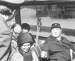 1973: The first oil crisis brings car-free days and petrol rationing - and Norway's King Olav takes the tram.