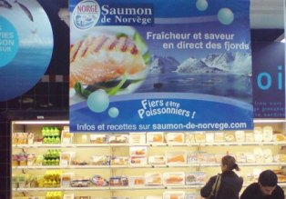 Photographer: EFF Fresh and tasty direct from the Norwegian Fjords - Norwegian Salmon campaign in France.