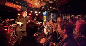 Cardigans held a concert at Herr Nilsen recently. Photo: Olav Olsen