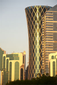 "BEST: Tornado Tower in Doha was honored as the ""best tall building"" in the Middle East and Africa. (Photo: Halvor Molland)"