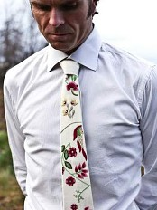 Ties from Graffer-drakten. Photo: jkjk