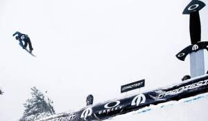 Terje Haakonsen in action at The Arctic Challenge in Linderudkollen last year. Photo: Kyrre Lien, SCANPIX