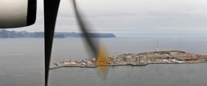 The Hammerfest LNG plant at Melkøya. (Photo: Harald Pettersen)