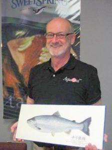 Per Heggelund, President of AquaSeed (photo John Erik Stacy).
