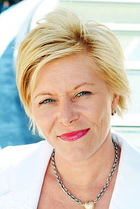 Siv Jensen is the leader of Norway's Progress Party.