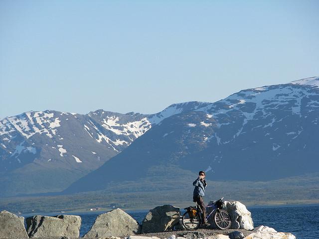 Travel Hacking in Tromsø, Norway. Photo: Scott D. Meyer