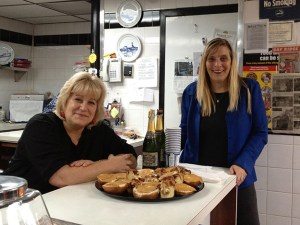 Photo: Helene Bakke Arlene Bakke Rutuelo & Victoria Hofmo at Nordic Delicacies, which has been providing Brooklyn with waffles and other delights for 27 years.
