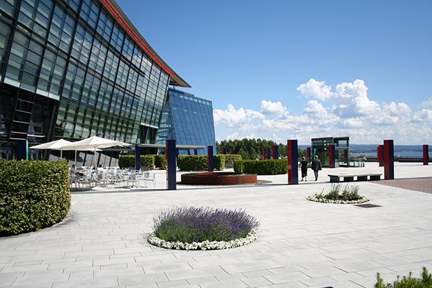 Photo: Telenor Group  Telenor Group and Telenor Norway HQ in Fornebu.