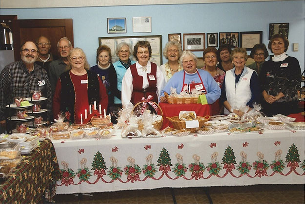Photo: Solveig Lee Sons of Norway Abel Lodge celebrates Christmas in Conway.