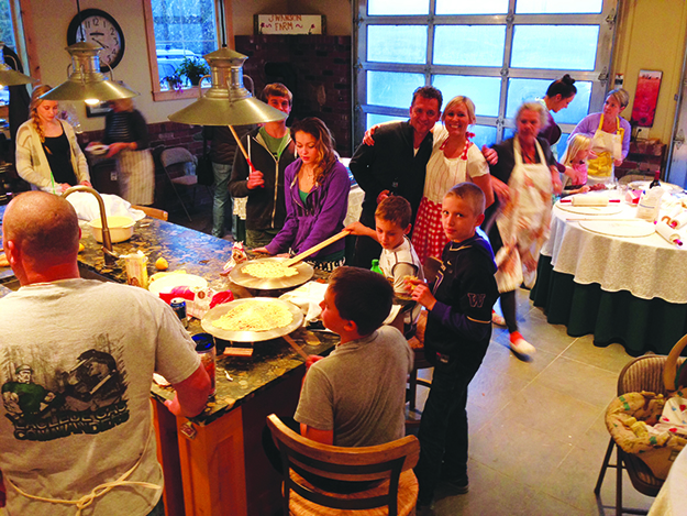 Photo: Keith Swanson 60 pounds of potatoes and 30 family members make this lefse special.