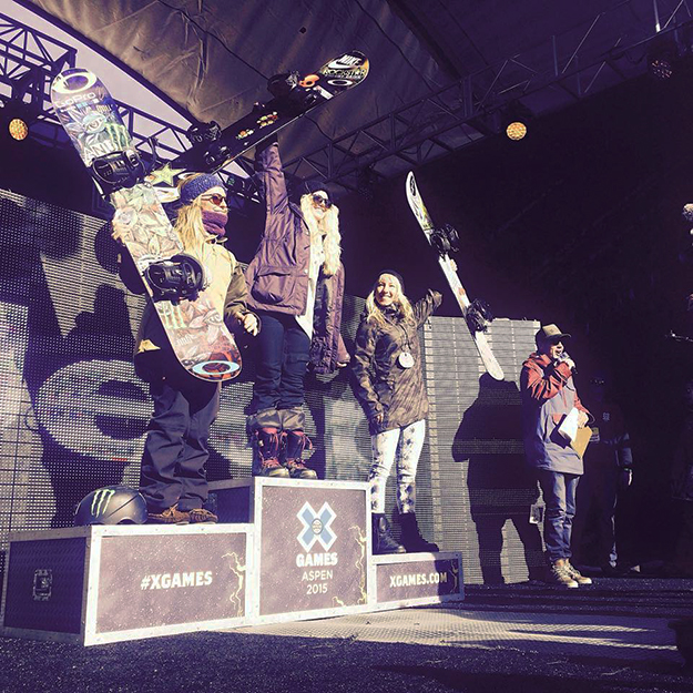 Photo: Silje Norendal / Facebook Norendal tops the podium.