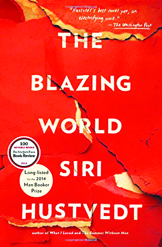 book cover of The Blazing World by Siri Hustvedt