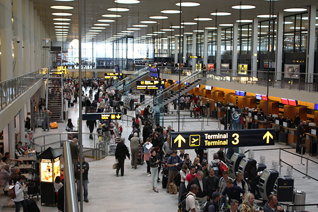 Photo: Dornum72 / Wikimedia Commons Copenhagen's Kastrup airport is ranked number one in Scandinavia.