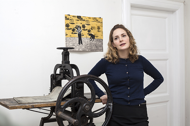 Photo courtesy of Elin Rødseth Elin Rødseth's first solo show is on now at New York's Owen James Gallery.