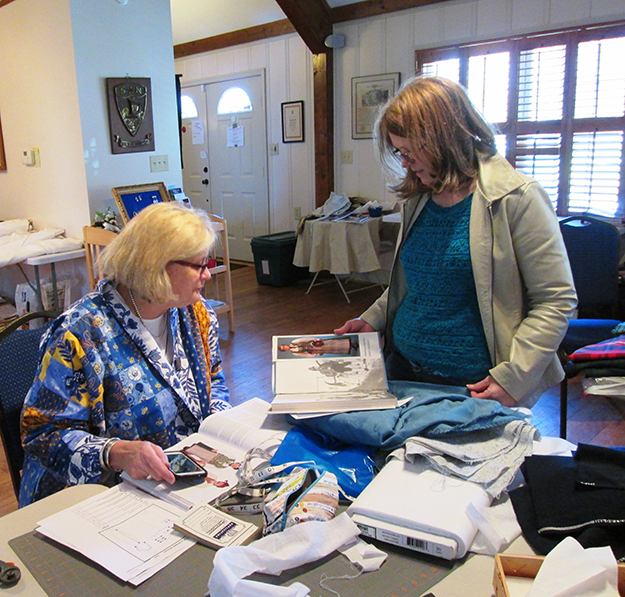 Photo: Christine Foster Meloni Tenley Erickson worked with Deb to design the perfect bunad.
