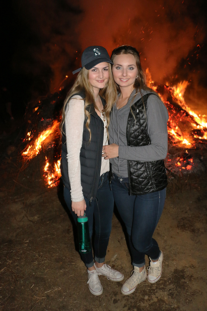 Photo: Solveig Lee No Midsummer celebration would be complete without a bonfire.