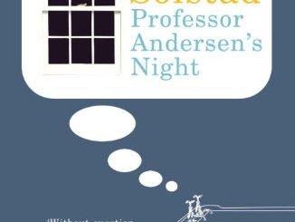 "book cover for ""Professor Andersen's Night"" by Dag Solstad"