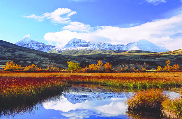 Photo: Anders Gjengedal / Visitnorway.com Autumn in Rondane, the breathtaking National Park you'd pass if you took your virtual pilgrimage to the real world. While St. Olav's Way only skirts these incredible vistas, what's a few more kilometers when scenes such as this might be your reward?