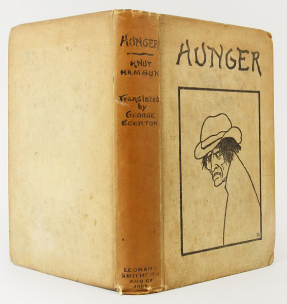 Photo: Whitmore Rare Books First edition of Hunger, 1899.
