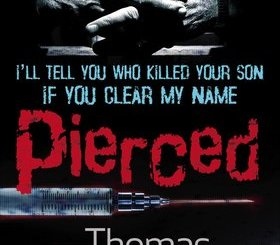 """book cover for Thomas Enger's """"Pierced"""""""