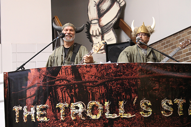 Photo: Leann Mellum Moments Notice plays on the Troll's Stage.