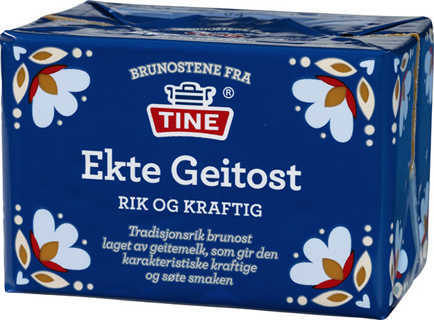 Photo: Tine Mediebank Now you can buy your gjetost at the Danish Athletic Club.