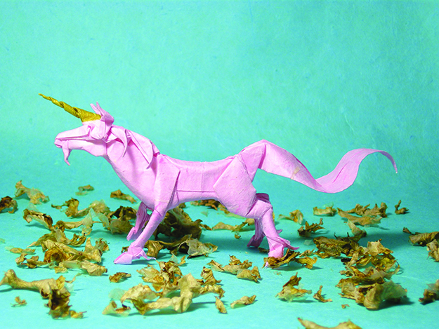 An image of a unicorn representing the kinds of companies Schibsted supports.