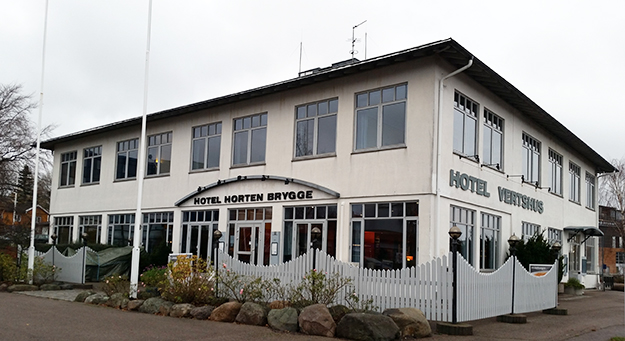 Photo: Peter Fiskestrand / Wikimedia Commons  Hotel Horten Brygge, in Vestfold, is just one of the two brothers' many hospitality properties.