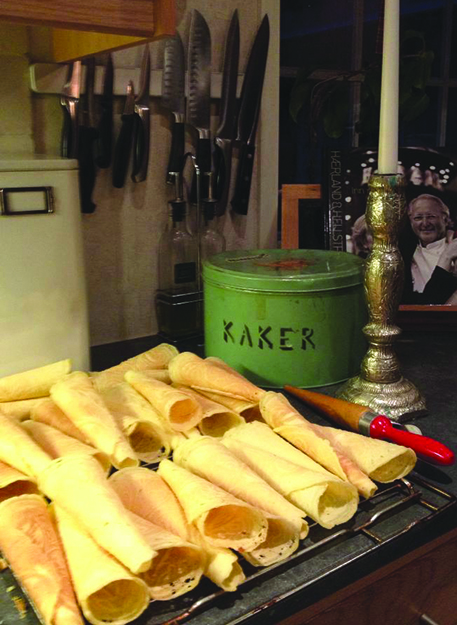 Photo: Sunny Gandara Making krumkaker means being part of a family tradition that goes back an untold number of generations.