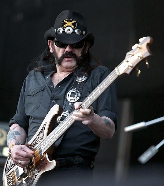 Photo: Rama / Wikimedia Commons. Lemmy from Motörhead in 2011.
