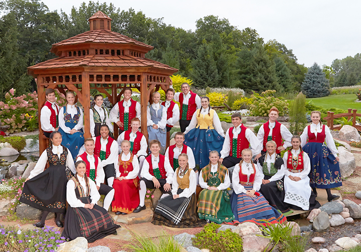 Photo courtesy of Leif Erikson Lodge The Norwegian Dancers are goodwill ambassadors who have danced for millions of people.