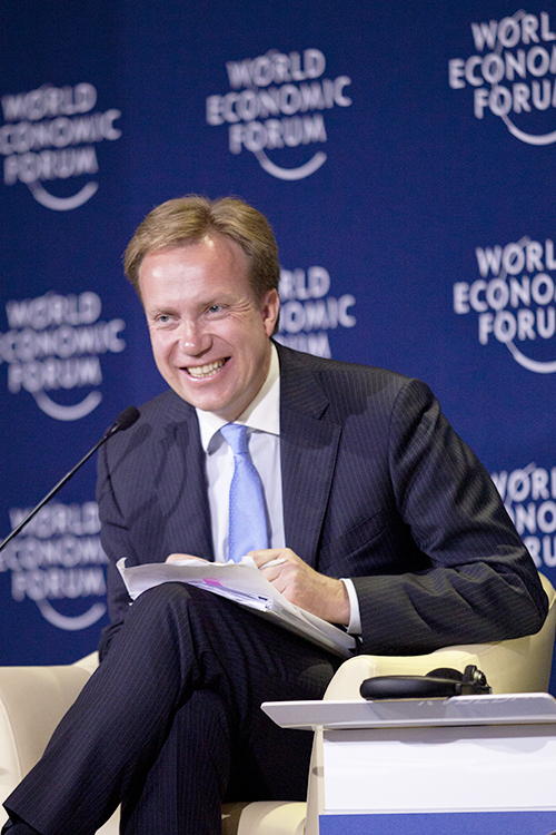 Photo: World Economic Forum / Wikimedia Børge Brende is too savvy to comment on another country's politics. Photo from 2012.