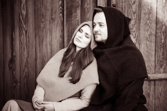 Photo courtesy of Lene Lorentzen Lorentzen's Viking hoods are available in a variety of colors of wool or linen, in four basic sizes to fit anyone from two-year-old children to large adults. The campaign ends on March 18, so don't hesitate!