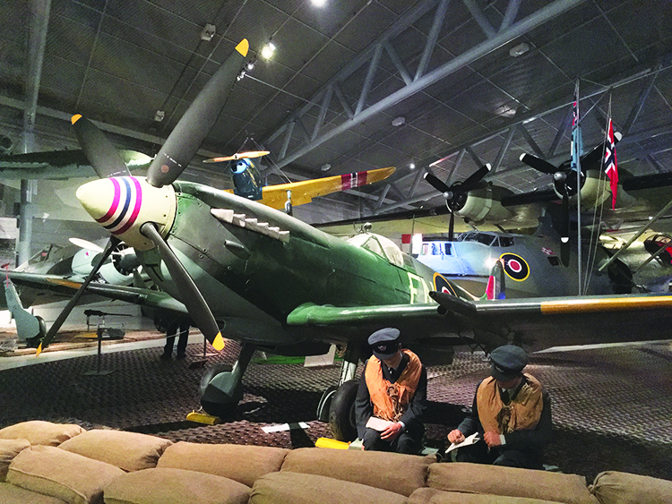 Photo: David Nikel Bodø's Aviation Museum is full of planes and other exhibits from WWII, making it as interesting for history buffs as it is for aviation fanatics.