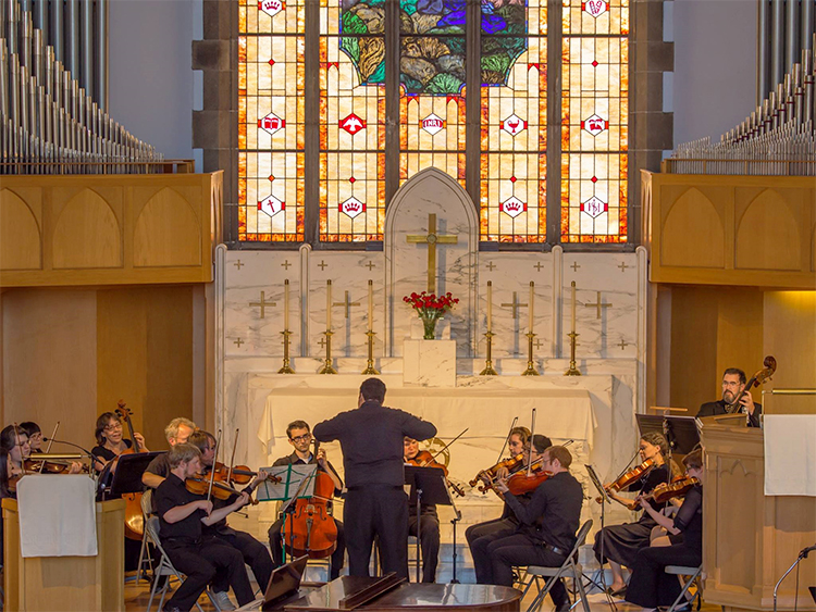 Photo: Martin Ng Allion Salvador will conduct the Seattle Philharmonic Strings at the Seattle-Bergen Sister City Association's third annual Grieg Gala at Ballard First Lutheran Church, June 12, at 2:00 p.m.