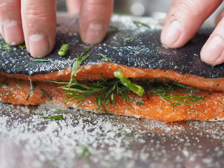 Photo: Nevada Berg Gravlax is surprisingly easy to make, always a crowd-pleaser, and with modern refrigeration isn't a death-defying experience.