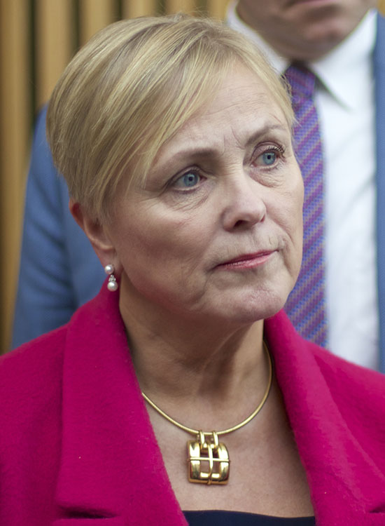 Photo: Stiftelsen Tinius / Wikimedia Thorhild Widvey has been active in Norwegian politics since 1979, most recently as the Minister of Culture.