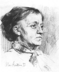 Images: Public domain / Wikimedia Commons A portrait of Kitty Kielland by Olav Rusti (1850-1920).