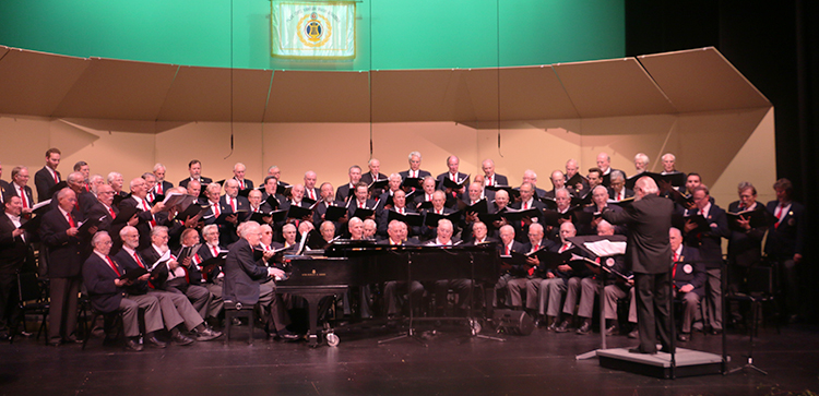 Photo: Solveig Lee Many voices singing together is what Sangerfest is all about.