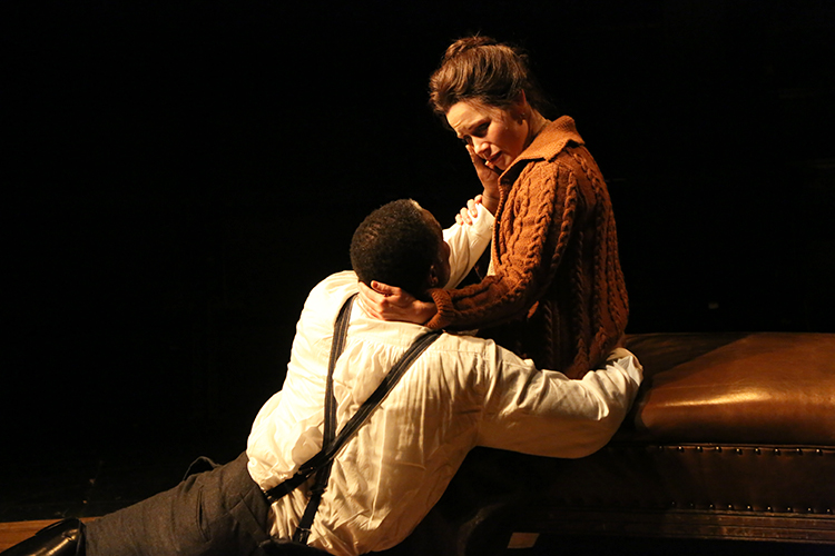 Photo: Gerry Goodstein / courtesy of TFANA Maggie Lacey and John Douglas Thompson return as Laura and Adolf in Strindberg's The Father.