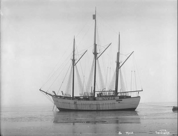 Photo: Anders Beer Wilse / Wikimedia The ship herself, photographed on March 7, 1918, by the famous Anders Beer Wilse.