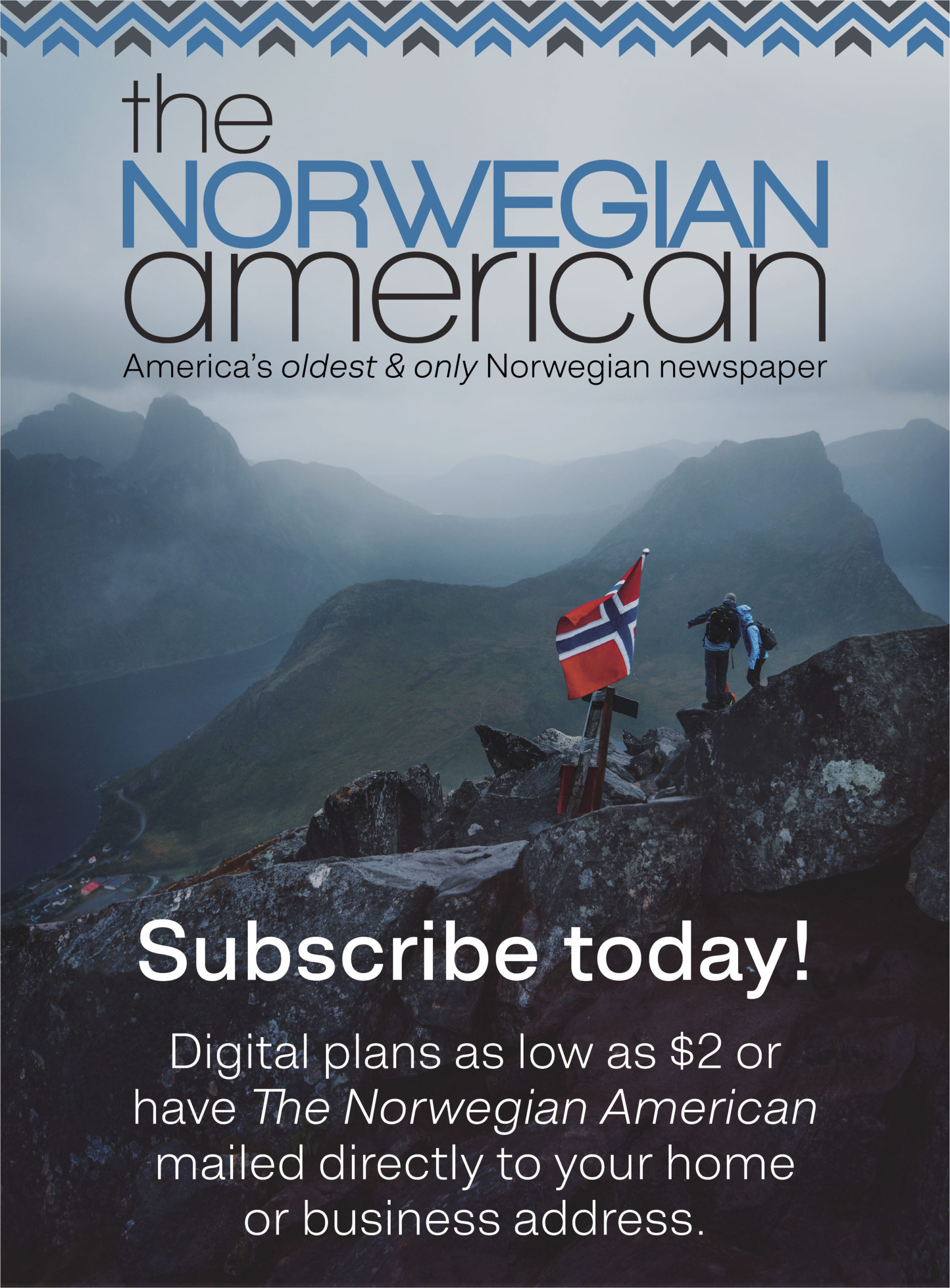 Subscribe Norwegian American