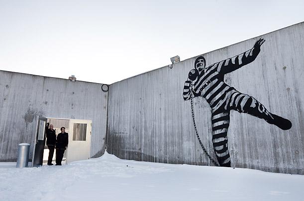 Photo: Trond Isaksen / Statsbygg Artwork at Halden Prison.