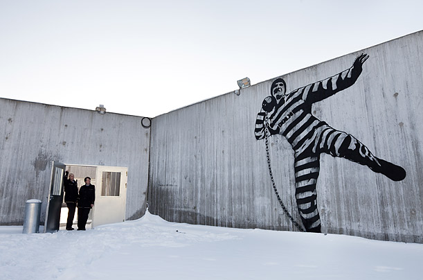 Photo: Trond Isaksen / Statsbygg Artwork at Halden Prison.